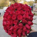 buchet 101 rosii