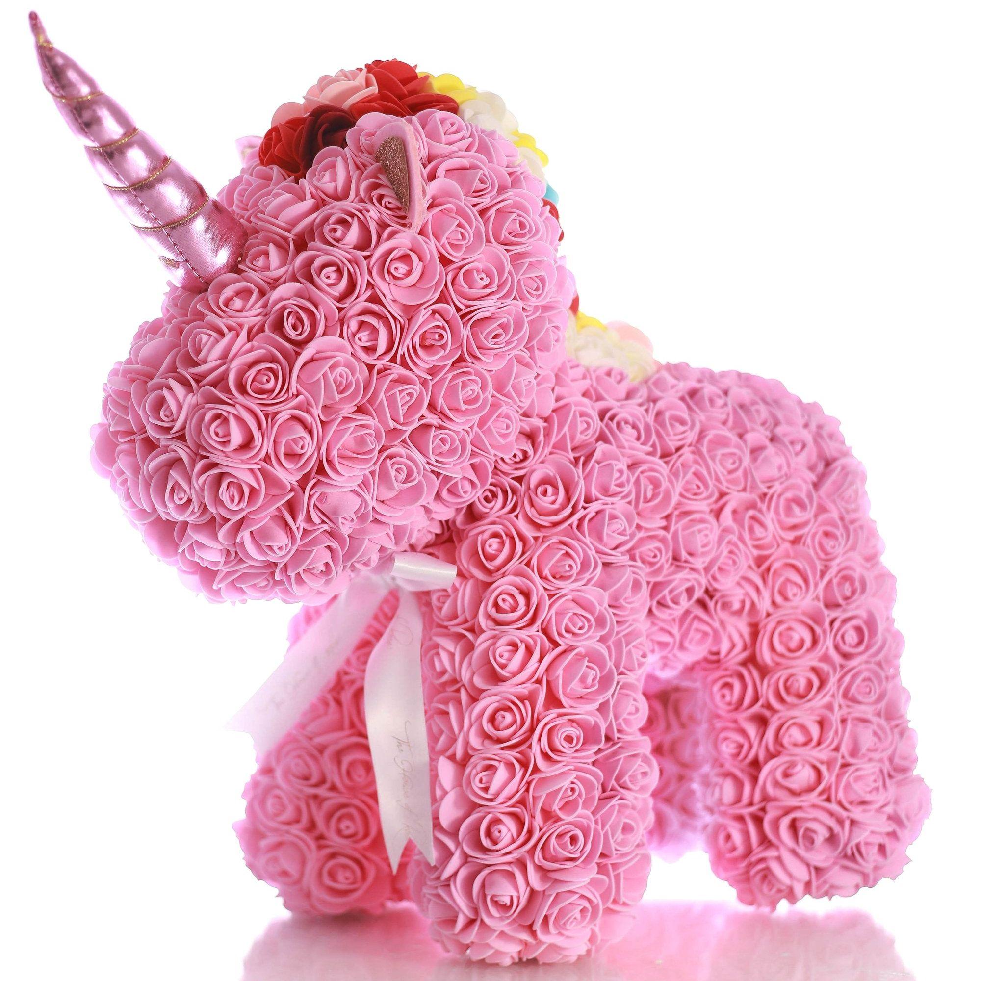 unicorn din trandafiri resize